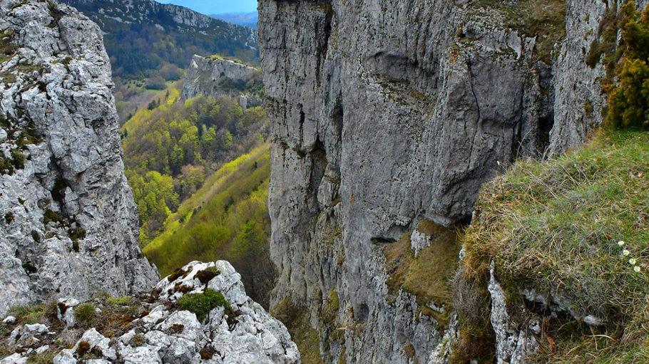 Barbières à l'orée du vallon de la Barberolle, au pied du Vercors