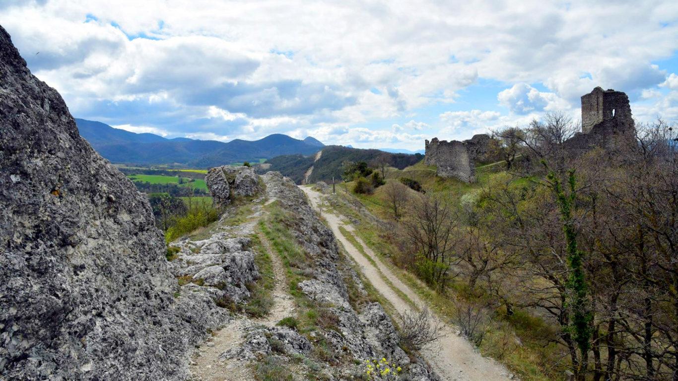 Balade à la Baume Cornillane dans la Drôme
