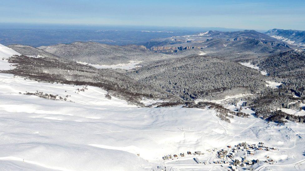 Station de ski de Font d'Urle dans le Vercors